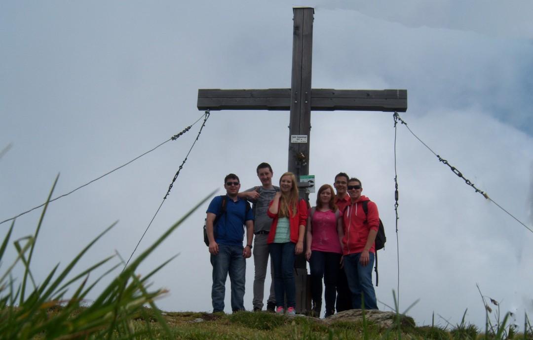 Das ORGA-Team am Gipfel