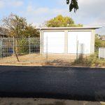 Garage des OV noch im Bauzustand